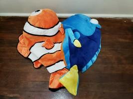 """Disney Parks 20"""" Finding Nemo Finding Dory Reversible Plush - $15.47"""