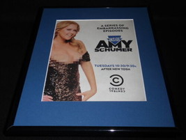 Inside Amy Schumer 2015 Framed 11x14 ORIGINAL Advertisement Comedy Central - $29.09