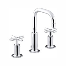 Purist 8 in. Widespread 2-Handle Bathroom Faucet in Polished Chrome - $427.00