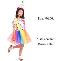TPDT* B 0172 Halloween Costumes Kids Children Funny Clown Costume Naught... - £33.99 GBP