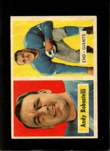 1957 TOPPS #71 ANDY ROBUSTELLI EXMT NY GIANTS HOF  *XR16612 - $12.00