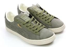 Mens Puma Court Star Citi Series Fashion Sneaker - Burnt Olive Nubuck Si... - $64.99