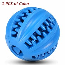 Treat Ball,Fun Interactive Food Dispensing Dog Toy, Non-Toxic Natural BLUE - $15.99
