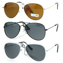 Kids Size Metal Wire Rim Classic Tear Drop Shape Aviator Sunglasses - $9.95
