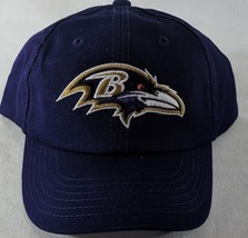 LZ NFL Team Apparel Toddler 18m+ OSFA Baltimore Ravens Baseball Hat Cap NEW i38 image 2