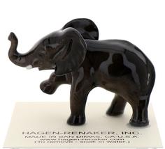 Hagen-Renaker Miniature Ceramic Wildlife Figurine African Elephant Baby