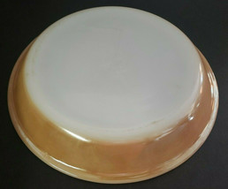 """Anchor Hocking Fire King Peach Lustre Luster Ware 9"""" Pie Pan Plate Vintage #460 - $28.99"""