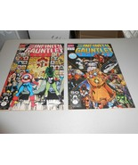 1991 Infinity Gauntlet Comics 1 & 2 from Marvel Comics Thanos - $29.70