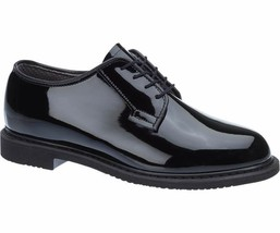 Bates 00731 Lites women's  Black High Gloss Oxford 6.5 EW - $59.39