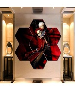 Devil May Cry Wall Art Painting Canvas Poster Print Decor Hexagon 7 Pane... - $94.99+