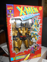 "X-men Wolverine Deluxe Edition Toy Biz 10"" Poseable Weapon 1994 Marvel Toy 49741 - $24.70"