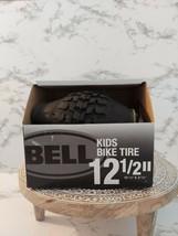 "Bell Standard Kids Bike Tire, 12.5"" x 1.75-2.25""  Black - $18.80"
