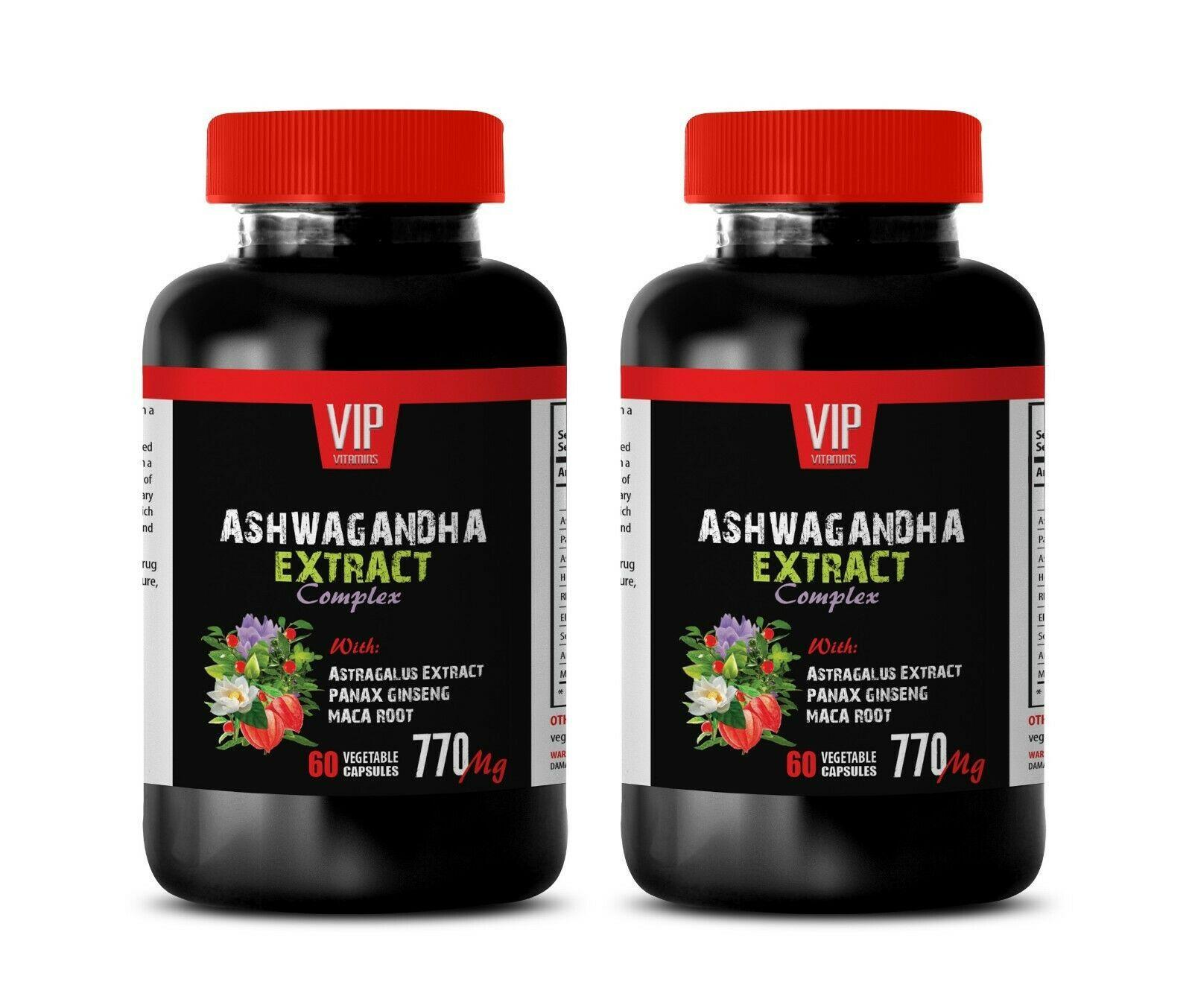 anti inflammatory supplement - ASHWAGANDHA COMPLEX 770MG - adaptogen capsules 2B