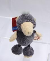 "NICI Mole Grey Key Chain Animal Plush Stuffed Toy Beanbag Keyring 4"" - $12.00"
