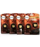 4 Packs Febreze Car 0.14 Oz Wood Amber OUD Cedar 2 Ct Air Freshener Vent... - $39.99
