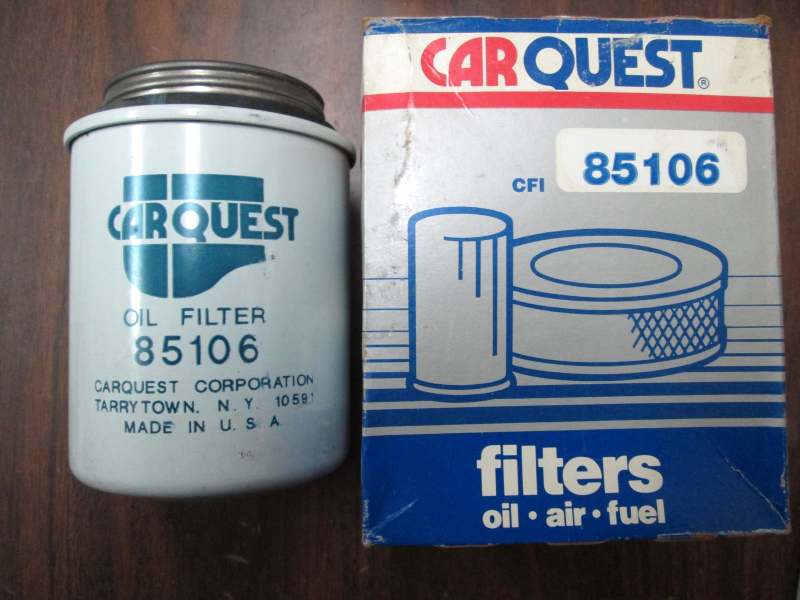 85106, Carquest, Oil Filter and 50 similar items