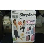 Simplicity 9195 Junior's Dress, Top, Skirt, Pants & Shorts Pattern - Siz... - $5.04