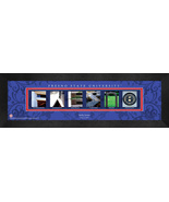 Personalized Fresno State University Campus Letter Art Framed Print - $39.95