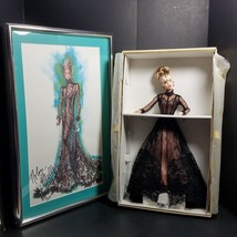 Limited Edition Nolan Miller Sheer Illusion Barbie Signed Reproduction S... - $75.99
