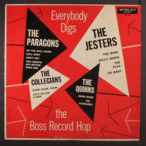 Varios: Everybody Empujes de la Bogg Record Hop LP (Mono, Algunos Cw , 3... - $149.99