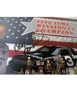 DALE EARNHARDT SR. FIVE TIME WINSTON CUP CHAMPION SIGNED AUTOGRAPHED CARD  - $82.18