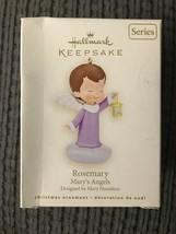 Hallmark Keepsake Ornament ROSEMARY Mary's Angels 21st In Series 2008 Ch... - $11.95
