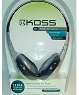 Koss UR5 Stereo Headphones with Foam Ear Cushions (Discontinued by Manuf... - $11.98