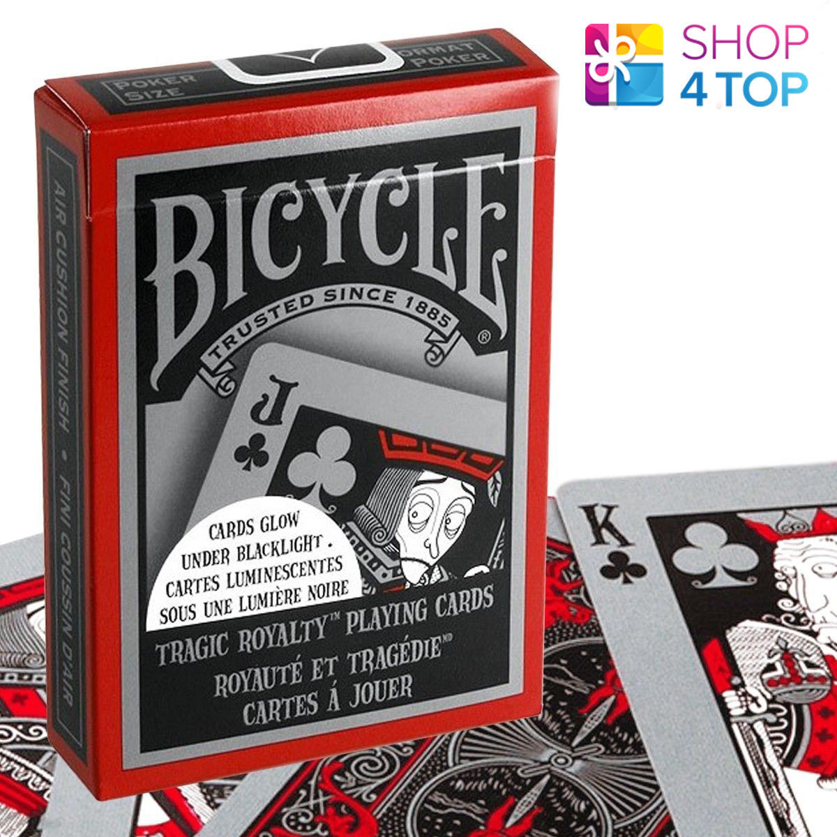 Bicycle tragic royalty playing cards deck and 50 similar items 57 aloadofball Gallery
