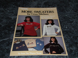 More Sweaters for Cross Stitchers Leaflet 426 Leisure Arts - $2.99