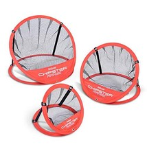 GoSports CHIPSTER Range - 3 Piece Golf Chipping Practice Net Target Syst... - $38.25