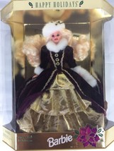 Happy Holidays Barbie Doll Special Edition 15646 Mattel 1996 Vintage NIB - $19.99