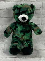 "Build-A-Bear BAB Workshop 15"" Plush Camo Camouflage Bear With Sound ""I L... - $14.23"