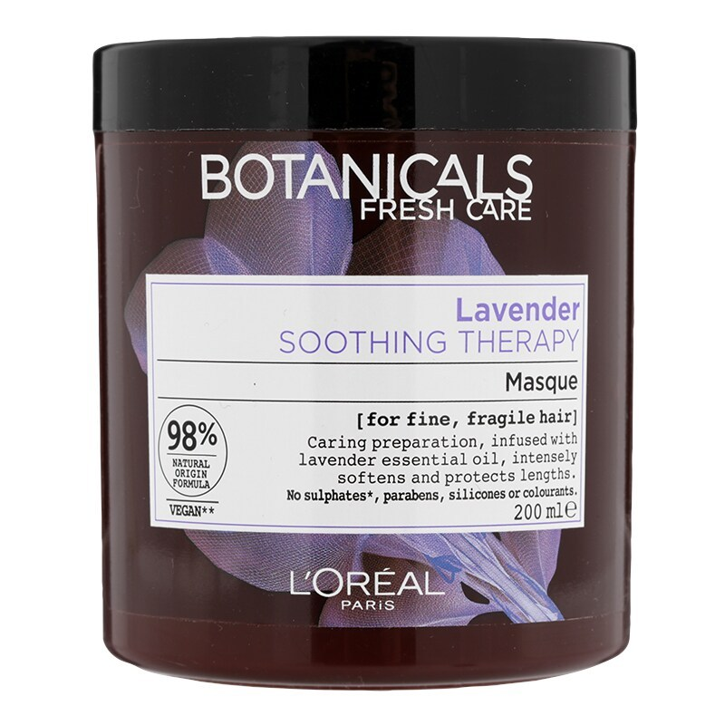 Botanicals Lavender Shoothing Hair Masque 200ml. (Product of Germany)