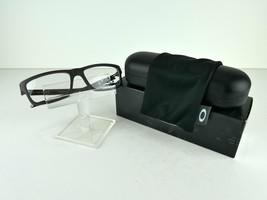 Oakley Currency (54) OX 8026-1354 Satin Black /Grey 57 x 17  Eyeglass Frames - $103.31