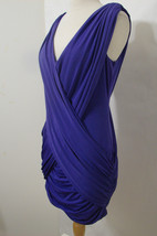 "BCBG Maxazria Lavender Sleeveless Grecian ""Alondra"" Dress NWOT M - $134.99"