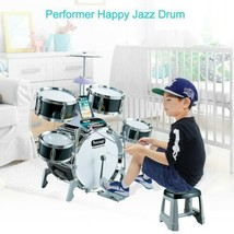 Kids Jazz Drum Set  Ideal Gift Toy For Kids Perfect party game US SHIPPING - $101.38