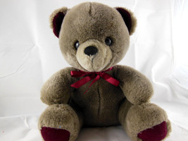 "Vintage Korea Applause 10"" SITTING TEDDY BEAR 1985 RARE HARD TO FIND Jin... - $15.83"