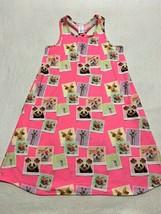 Children's Place XXL 16 Pink Animal Photo Nightgown Pajamas Racerback Cat Bunny - $7.99