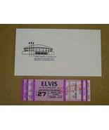 1977 UNUSED Elvis Presley Concert Ticket Memphis Tennessee August 27, 1977 - $148.49
