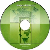 Latest New Release Manjaro KDE 18.1 OS 64 on DVD or USB Flash Drive - $3.59+