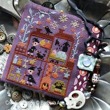 Witch House ? halloween cross stitch chart Barbara Ana Designs - $10.00