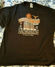 Texas Longhorns 2005 National Champions T-Shirt XL Delta Pro Weight - $19.34