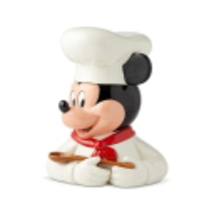 "11"" High Mickey Mouse Cookie Jar -  White Chef Design - Licensed Disney Decor image 2"