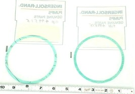 LOT OF 2 NEW INGERSOLL-RAND 2584A40X36SB001-NTL/SYN GASKETS 60636628 image 2