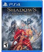 New! Shadows: Awakening Sony PlayStation 4 PS4 Free Shipping RTS #$ - $53.45