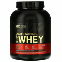 Optimum Nutrition Gold Standard 100% Whey Protein Double Rich Chocolate 5 Lb  - $77.03