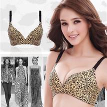 Women Sexy Seamless bra Leopard Print Push up bra H261 - $9.78+