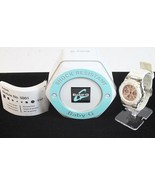 Casio Baby G Wrist Watch unisex white pink analog BGA110-7B2 H30 - $67.77