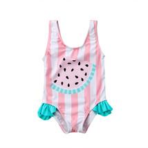 Newborn Kids Baby Girls Watermelon Swimsuit Swimwear Swimming Bikini Bea... - $8.90+