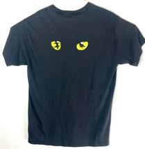 VTG CATS Musical Men's Black Cat Eyes Single Stitch T-Shirt Size XL  - $54.45